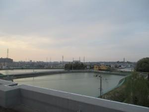 屋上からの風景 (2)